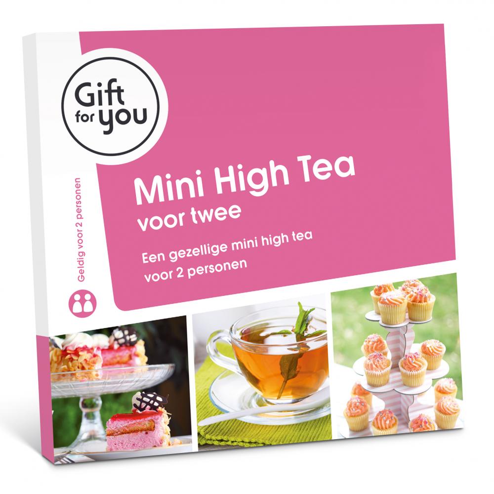 Mini High Tea voor twee